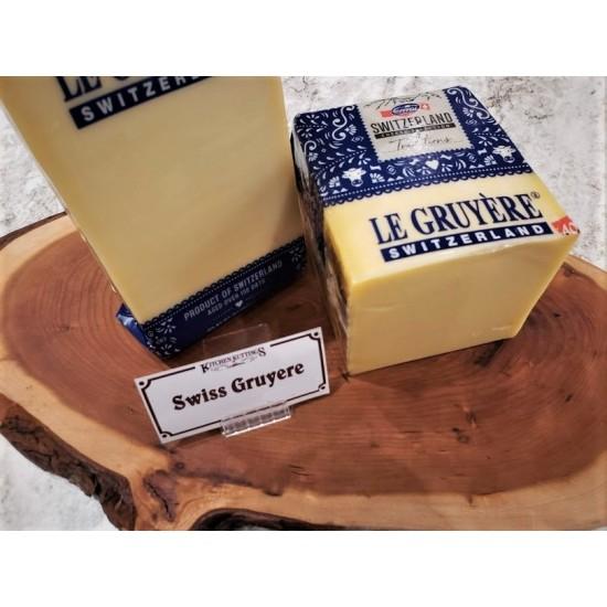 Fresh Cut Swiss Gruyere Cheese