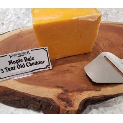 Fresh Cut 3 Year Old Orange Cheddar
