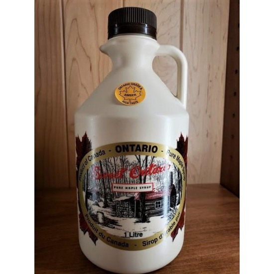 Local Amber Pure Maple Syrup