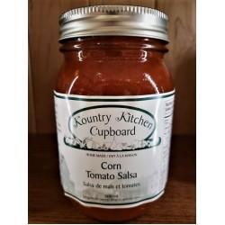 Local Homemade Corn Tomato Salsa