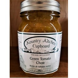 Local Homemade Green Tomato Chow