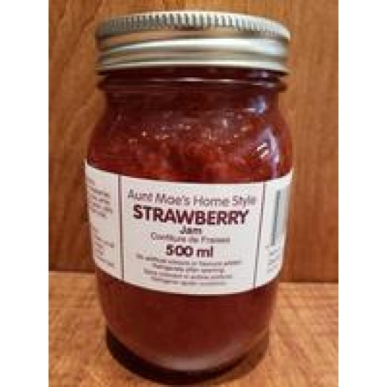Local Homemade Jam and Jelly - 500 mL - Assorted Flavours