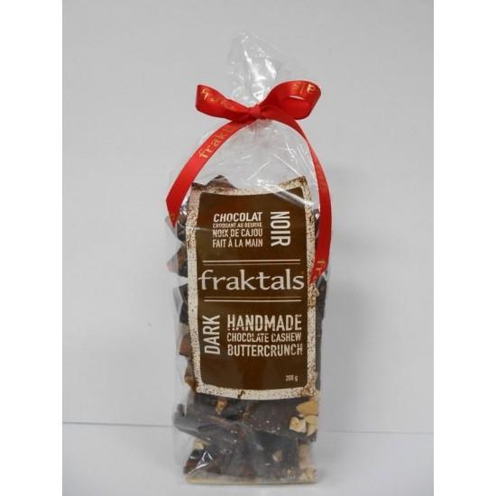 Fraktals Dark Chocolate Cashew Buttercrunch