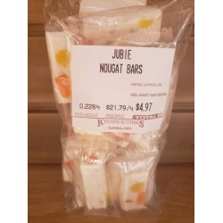 Old Fashioned Jubie Nougat Candy